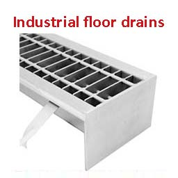 industrial stainless steel floor drains