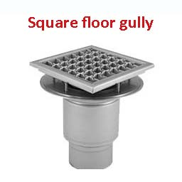 industrial stainless steel gullies floor drains